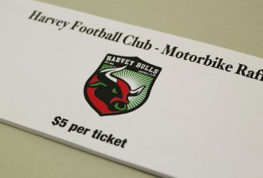 AFL CLUB Raffle Ticket Printing | Budget Raffle Tickets