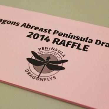 Brest Cancer Raffle Ticket Printing | Budget Raffle Tickets