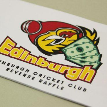Cricket Club Raffle Ticket Printing | Budget Raffle Tickets
