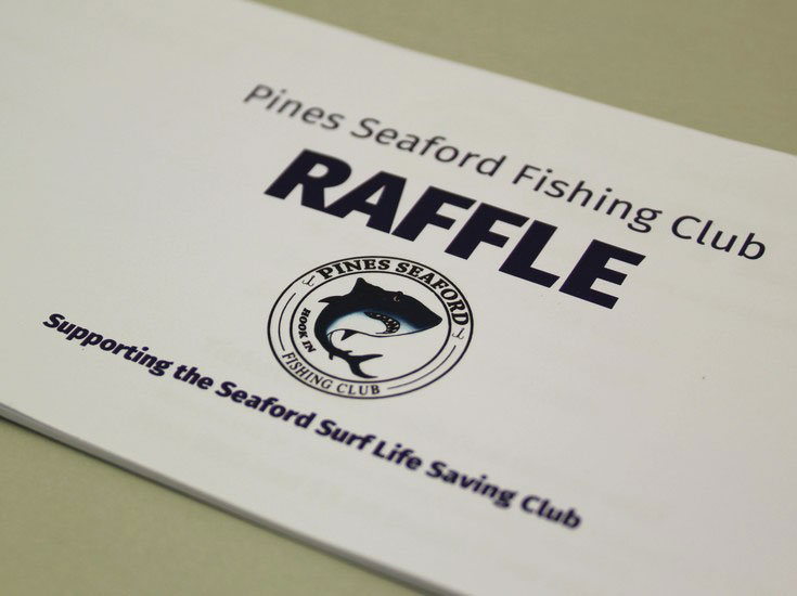 Fishing Club Raffle Ticket Printing | Budget Raffle Tickets