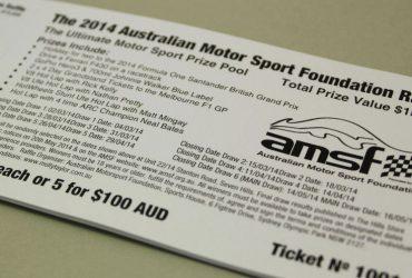 Motor Sport Raffle Ticket Printing | Budget Raffle Tickets
