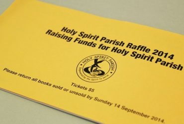 Cover - Parish Raffle Ticket Printing | Budget Raffle Tickets