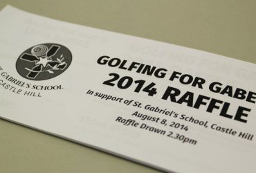 Golfing Raffle Ticket Printing | Budget Raffle Tickets